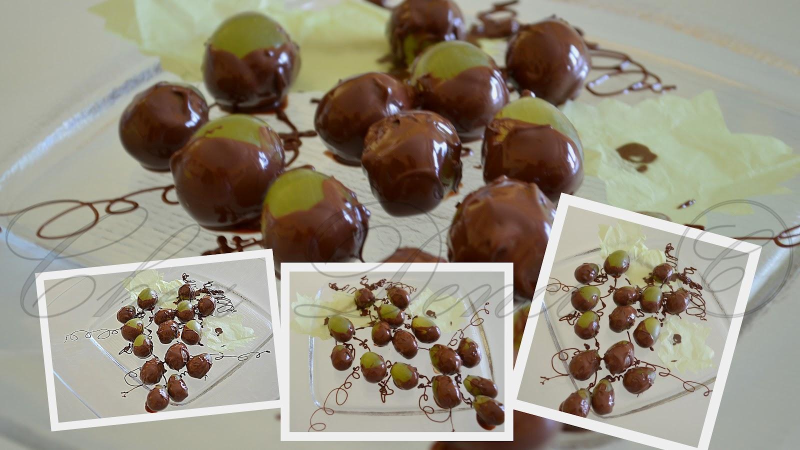 struguri in ciocolata